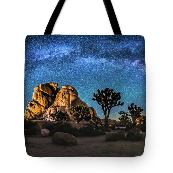 Joshua Tree Milkyway Tote Bag by Robert Loe