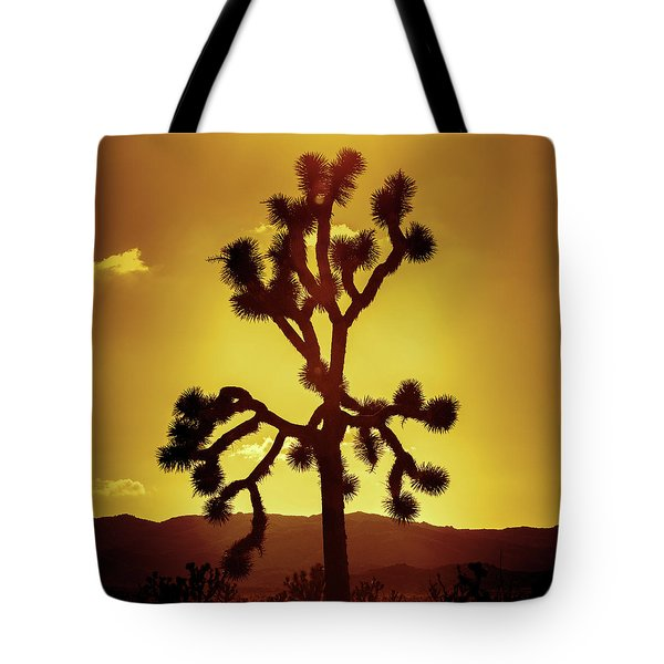 Tote Bag featuring the photograph Joshua Tree by Stephen Stookey