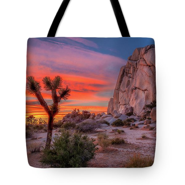 Joshua Tree Sunset Tote Bag