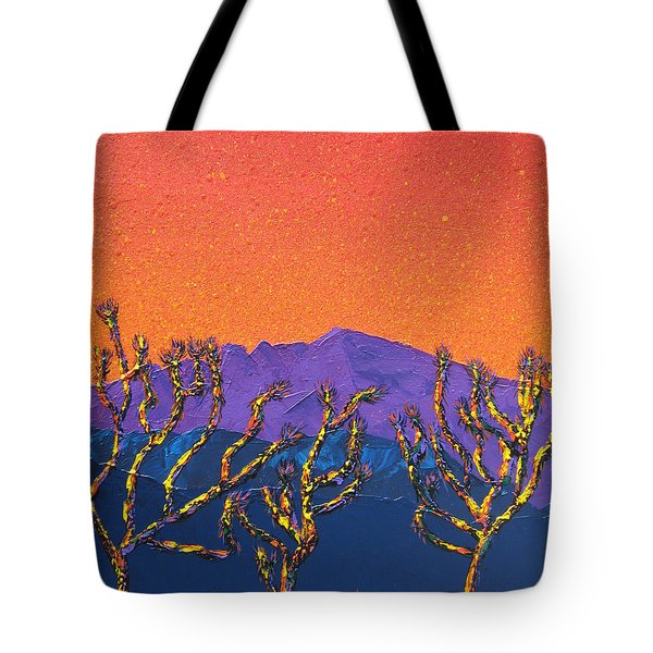 Joshua Trees Tote Bag