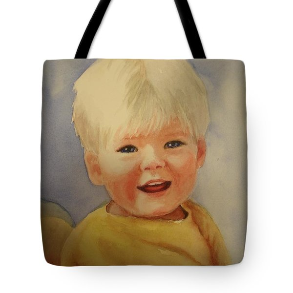 Joshua's Youngest Brother Tote Bag by Marilyn Jacobson