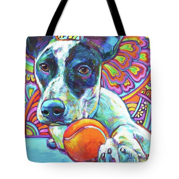 Tote Bag featuring the digital art Josie by Robert Phelps
