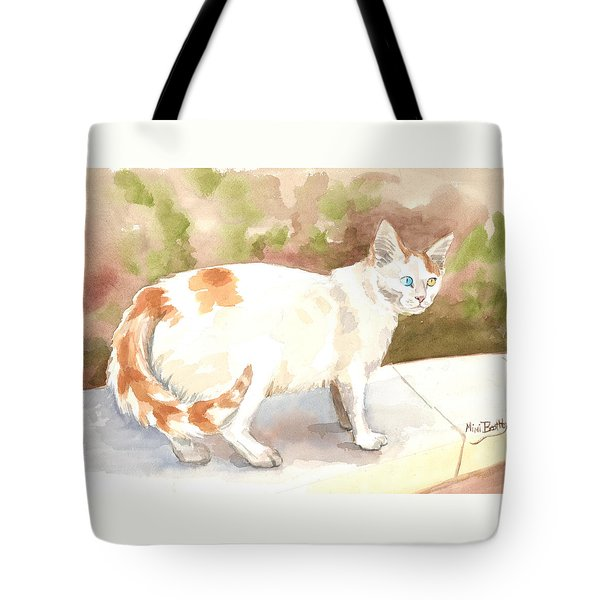 Jourieh Or Bowie  Tote Bag