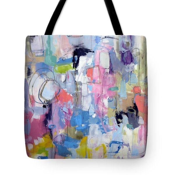 Tote Bag featuring the painting Journal by Katie Black