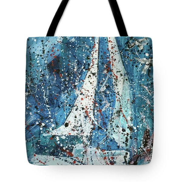 Journey Tote Bag