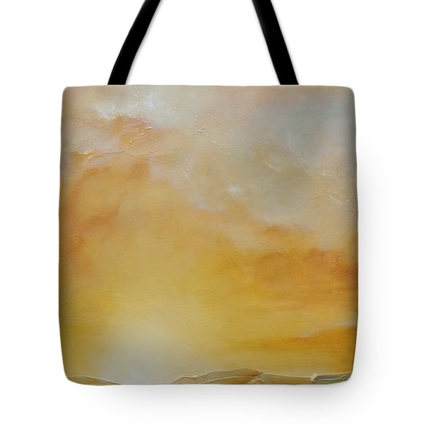 Tote Bag featuring the painting Journey by Dina Dargo