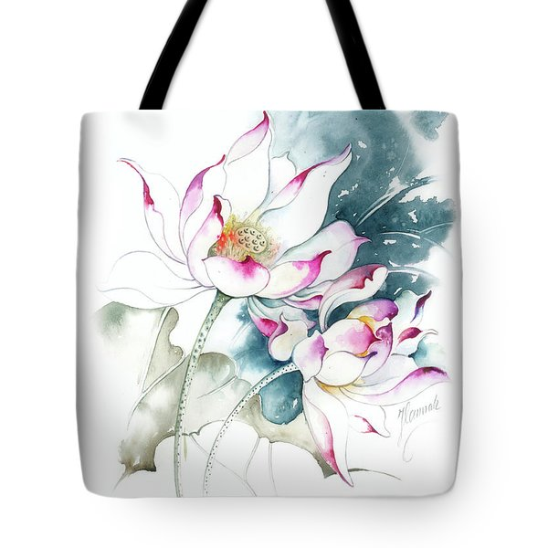 Journey For Two Tote Bag by Anna Ewa Miarczynska