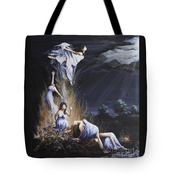 Journey Into Self Female Tote Bag