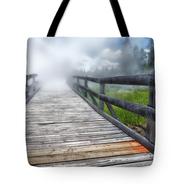 Journey Into The Unknown Tote Bag