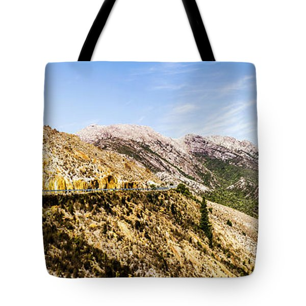 Journey Into The Wild West Tote Bag
