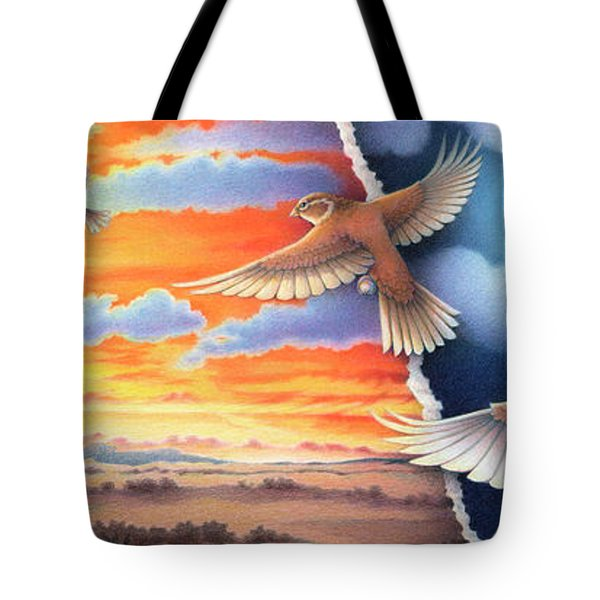 Journey Onward Tote Bag