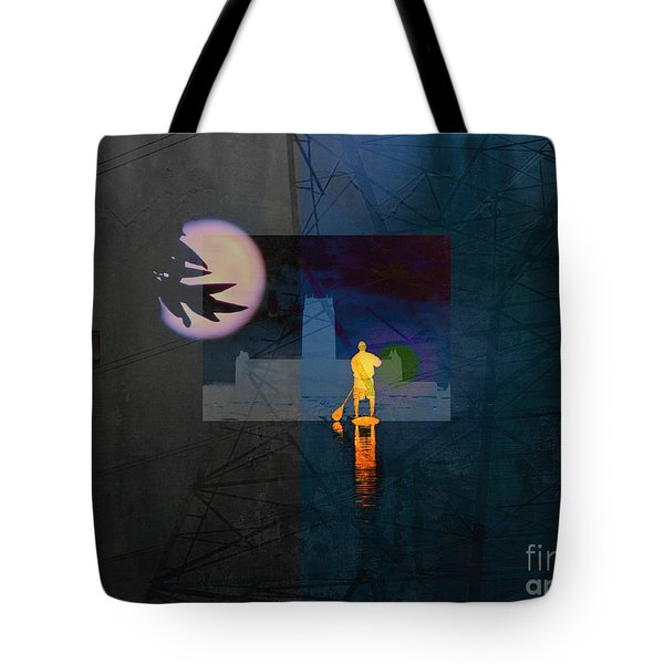 Journey Through Muddy Waters Tote Bag by Robert Ball