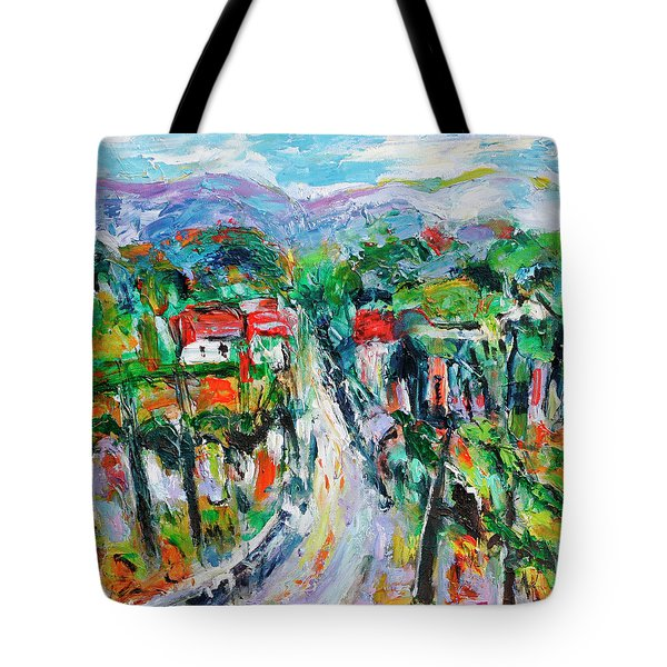 Journey Through The Vines Tote Bag