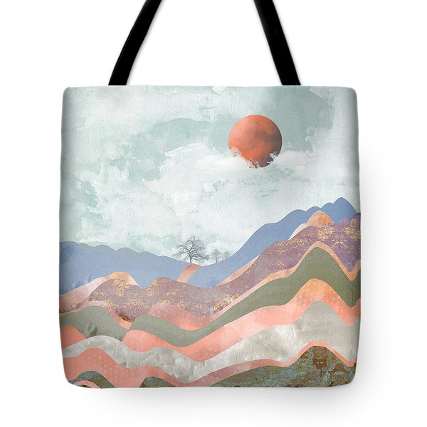 Journey To The Clouds Tote Bag