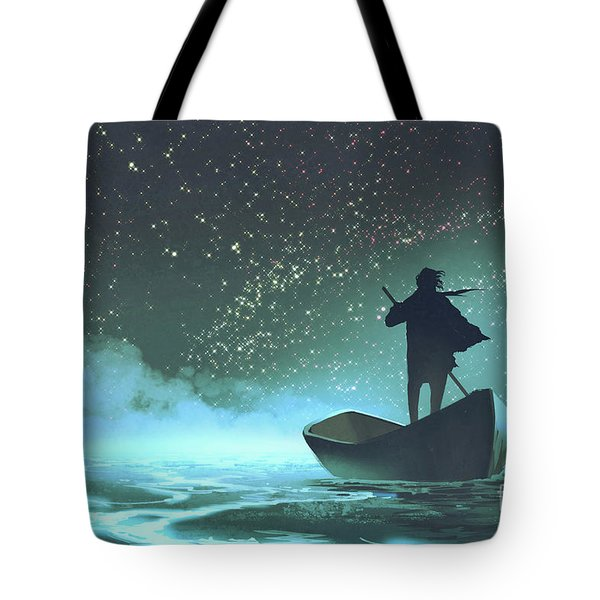 Journey To The New World Tote Bag
