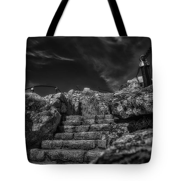 Journey To The Top Tote Bag