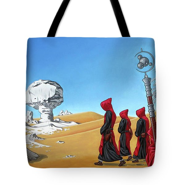 Journey To The White Desert Tote Bag