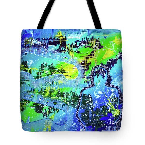 Tote Bag featuring the painting Journeyman by Melissa Goodrich