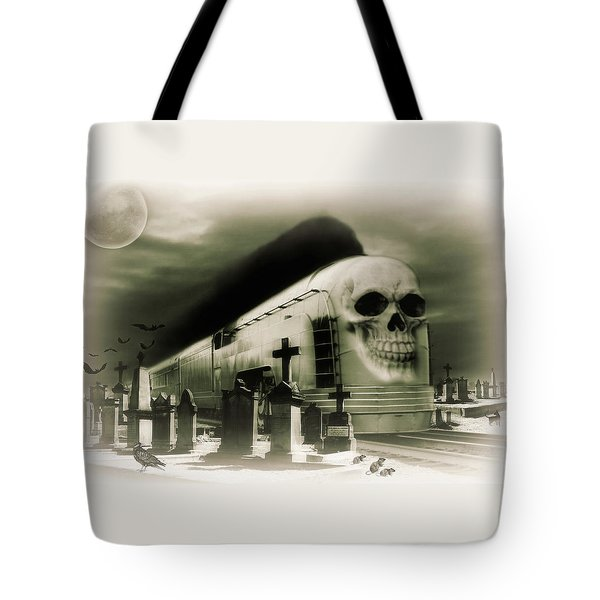 Journeys End Tote Bag by Steven Agius