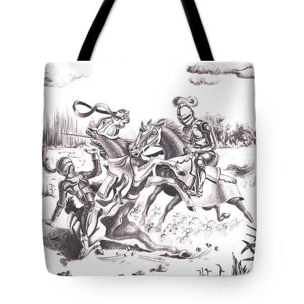 Joust Tote Bag