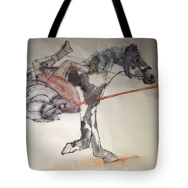 Jousting And Falcony Album  Tote Bag