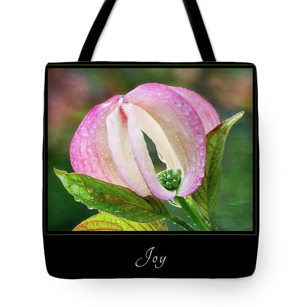 Joy 3 Tote Bag