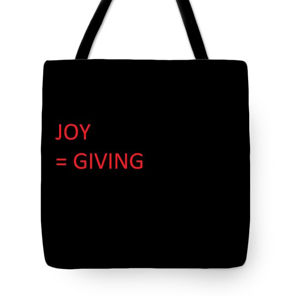 Tote Bag featuring the photograph JOY by Aaron Martens