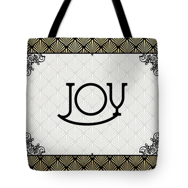 Joy - Art Deco Tote Bag