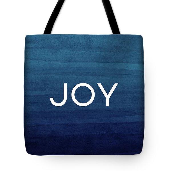 Joy Blue- Art By Linda Woods Tote Bag