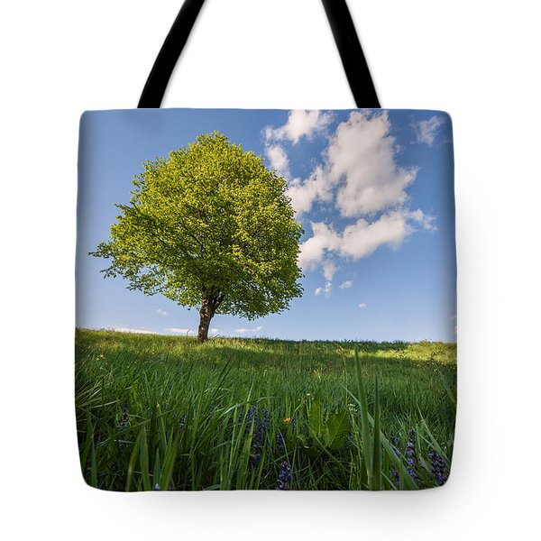 Tote Bag featuring the photograph Joy by Davorin Mance