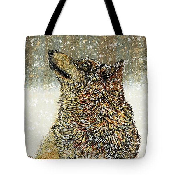Tote Bag featuring the painting Joy by Debbie Chamberlin