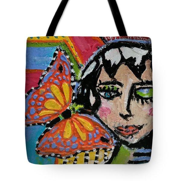 Joy - Vivid Vixen 10 Tote Bag
