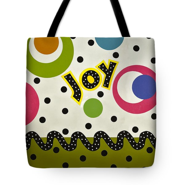 Tote Bag featuring the mixed media Joy by Gloria Rothrock