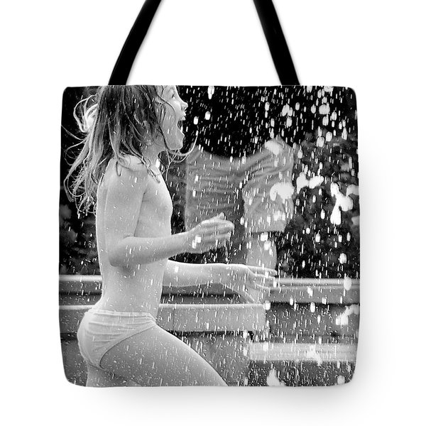 Screaming For Joy Tote Bag