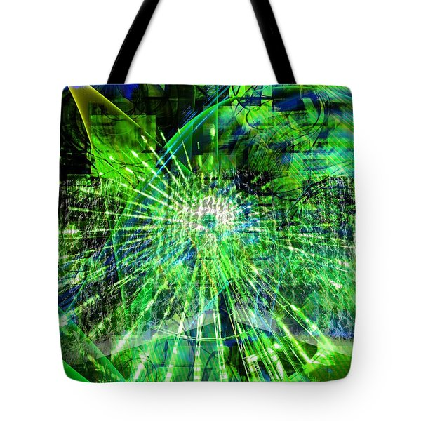 Tote Bag featuring the digital art Joy In The Journey by Art Di