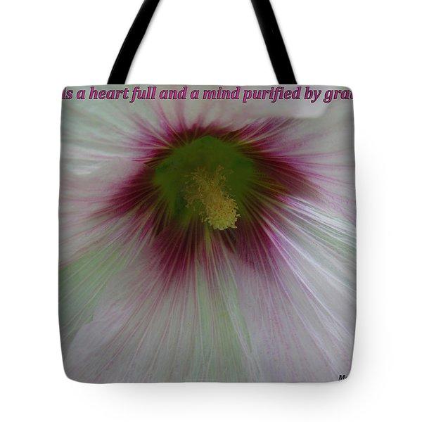 Joy Is A Heart Full Of Gratitude Tote Bag