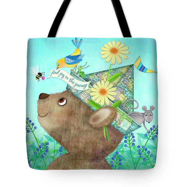 Joy Of The Journey Tote Bag