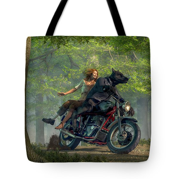 Joy Ride Tote Bag by Daniel Eskridge