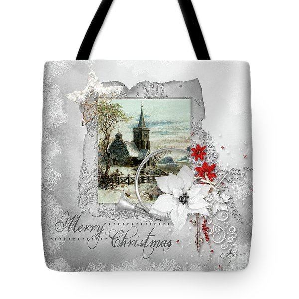 Tote Bag featuring the digital art Joy To The World by Mo T