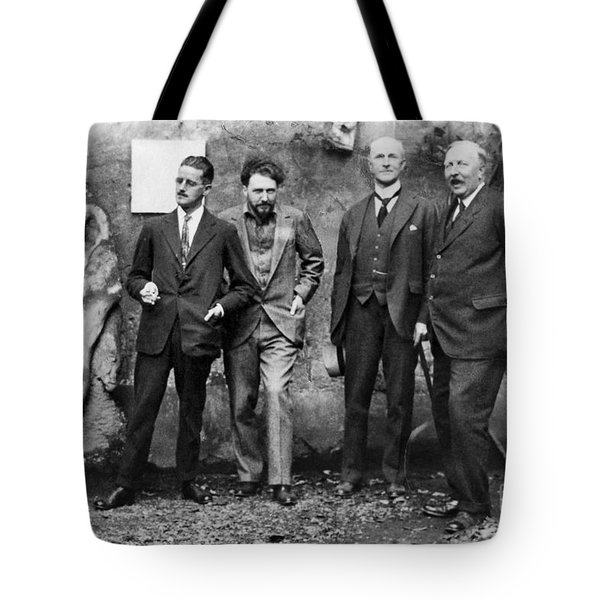 Joyce, Pound, Quinn & Ford Tote Bag by Granger