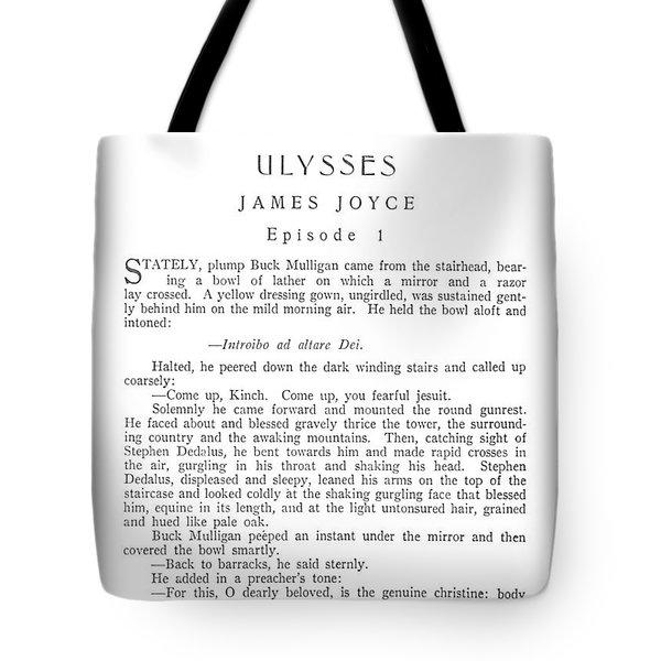 Joyce: Ulysses, 1918 Tote Bag by Granger