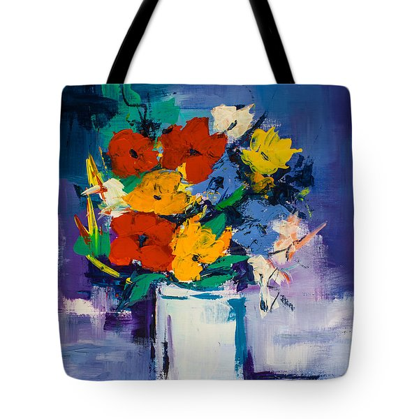 Bouquet Joyeux  Tote Bag by Elise Palmigiani
