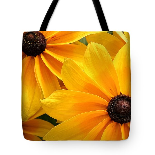 Joyful Bright Yellow Flowers  Tote Bag