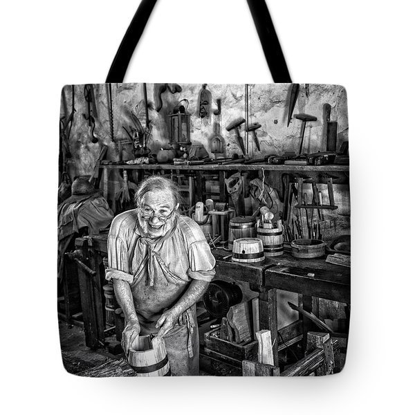 Joyful Cooper Tote Bag by Alan Raasch