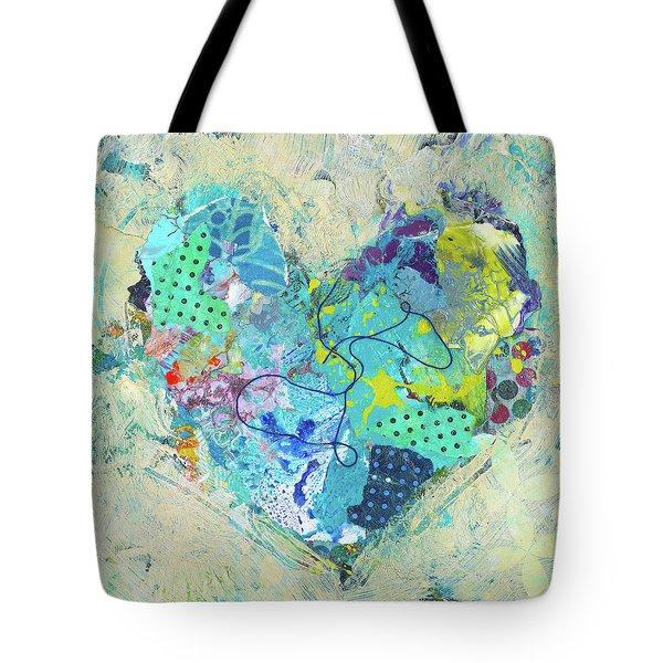 Joyful Heart 4 Tote Bag
