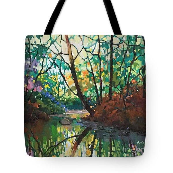 Joyful Morning Tote Bag