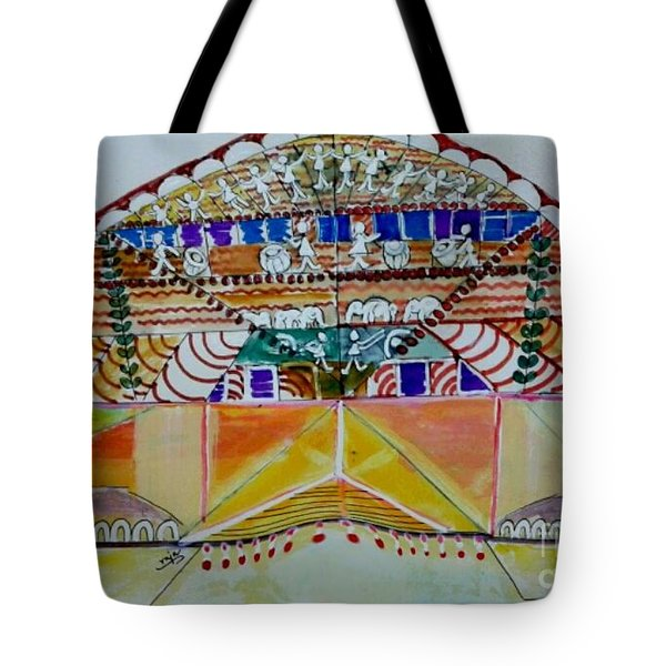 Joyous Entry Tote Bag