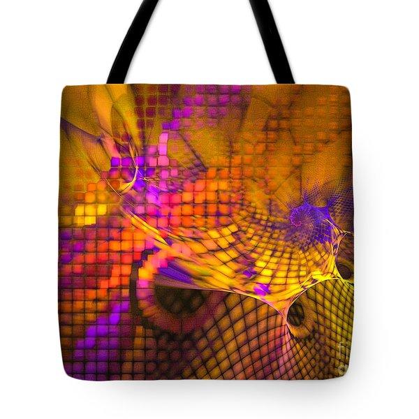 Joyride - Abstract Art Tote Bag