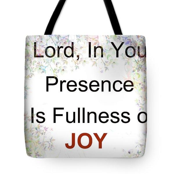 Joys Of Life Tote Bag
