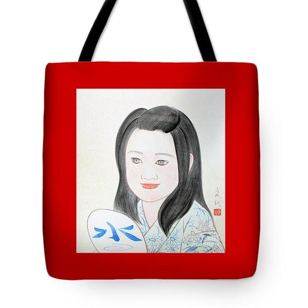 Jozen Mizu No Gotoshi Tote Bag